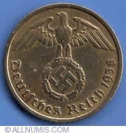 Image #2 of 10 Reichspfennig 1938 A