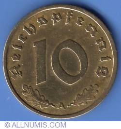 Image #1 of 10 Reichspfennig 1938 A