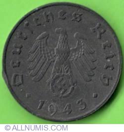 Image #2 of 10 Reichspfennig 1943 A