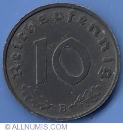 Image #1 of 10 Reichspfennig 1944 B