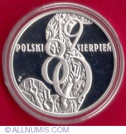 Image #2 of 10 Zlotych 2010 Polish August