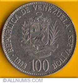 Imaginea #1 a 100 Bolivares 1998