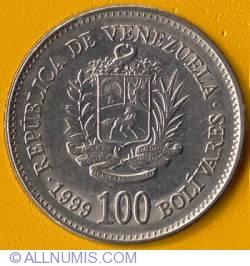Imaginea #1 a 100 Bolivares 1999