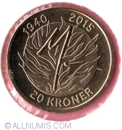 Image #2 of 20 Kroner 2015 - Queens 75th Birthday