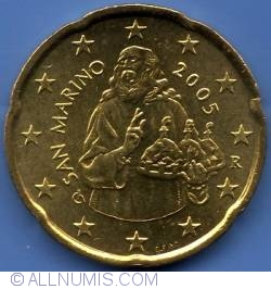 Image #1 of 20 Euro Cents 2005