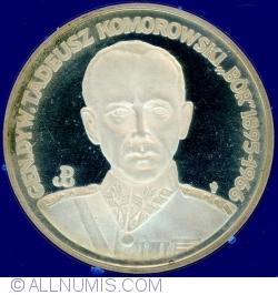 Imaginea #2 a 200 000 Złotych 1990 - Gen. Tadeusz Komorowski