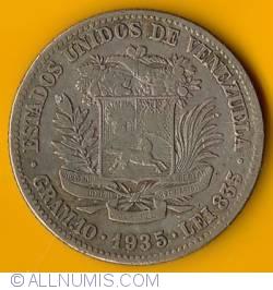 Imaginea #1 a 2 Bolivares 1935