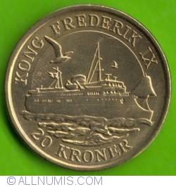 Image #2 of 20 Kroner 2012 - Kong Frederik IX