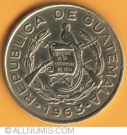 Image #1 of 1 Centavo 1963