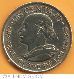 Imaginea #2 a 1 Centavo 1963
