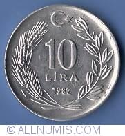 Image #2 of 10 Lira 1982