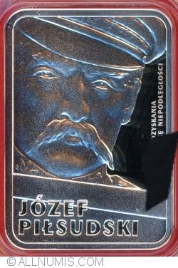Imaginea #2 a 10 Złotych 2015 - Józef Piłsudski (100 anniversary of Regaining Independence bz Poland)