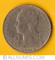 100 Francs 1964