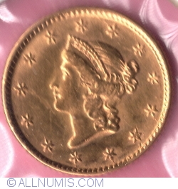 Image #1 of 1 Dollar 1853 (Liberty Head - Type 1)