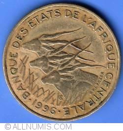 Image #1 of 25 Francs 1996