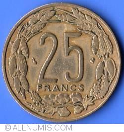 Image #2 of 25 Francs 1996