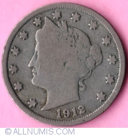 Liberty Head Nickel 1912
