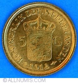 Image #2 of 5 Gulden 1912
