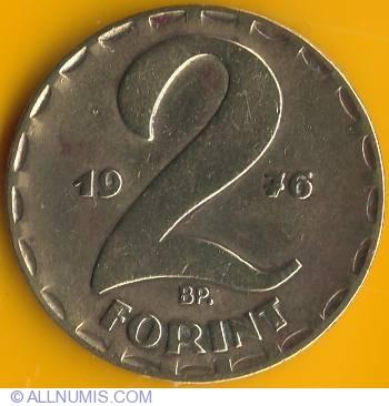 2 Forint 1976 People S Republic 1949