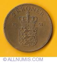 Image #2 of 2 Kroner 1951