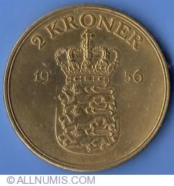 Imaginea #2 a 2 Kroner 1956
