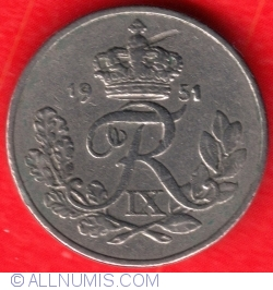 Image #1 of 10 Øre 1951