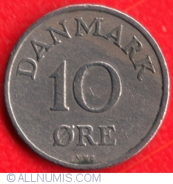 Image #2 of 10 Øre 1951