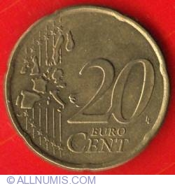 Image #1 of 20 Euro Cent 2002 (E in star)