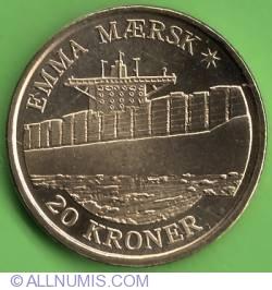 Image #2 of 20 Kroner 2011 - Emma Maersk