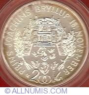 200 Kroner 1995 - Wedding of Prince Joachim
