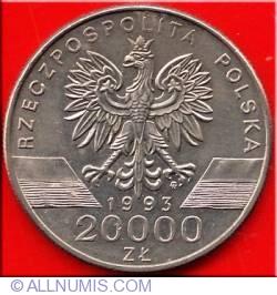 20000 Zlotych 1993