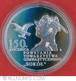 10 Złotych 2017 - 150th Anniversary of the Establishment of the Sokół Gymnastic Society