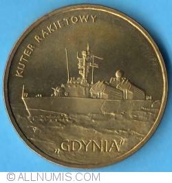 "Image #2 of 2 złote 2013 - Missile ship ""GDYNIA"""
