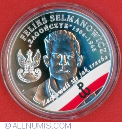 "Image #2 of 10 Złotych 2017 - The Enduring Soldiers Accursed by the Communists – Feliks Selmanowicz ""Zagończyk"""