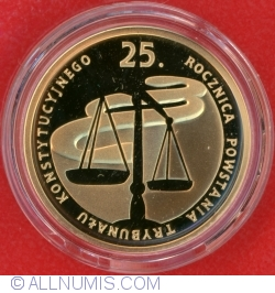 100 Zloți 2010 - 25 de ani de la înființarea Curții Constituționale