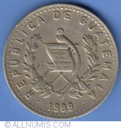 Image #1 of 25 Centavos 1989