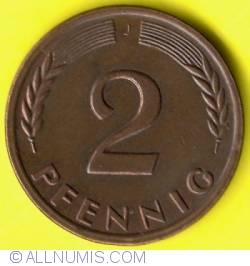 Image #1 of 2 Pfennig 1962 J