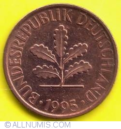 Image #2 of 2 Pfennig 1995 A
