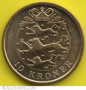 Norway 10 Kroner 2008 Wergeland commemorative coin Scandinavia UNC