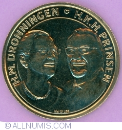 Image #1 of 20 Kroner 2017 - Golden Wedding