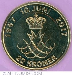 20 Kroner 2017 - Golden Wedding