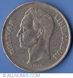 5 Bolivares 1977