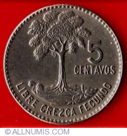 Imaginea #2 a 5 Centavos 1969