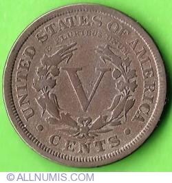 Liberty Head Nickel 1907