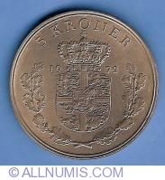 Imaginea #2 a 5 Kroner 1972