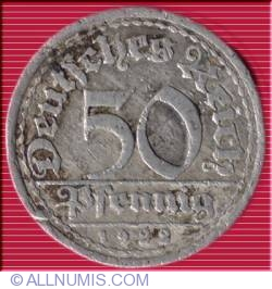 Image #1 of 50 Pfennig 1922 E
