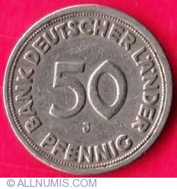 Imaginea #1 a 50 Pfennig 1949 J