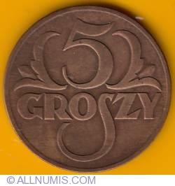 Imaginea #2 a 5 Groszy 1931