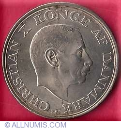 Image #1 of 2 Kroner 1945 - Kings 75th birthday