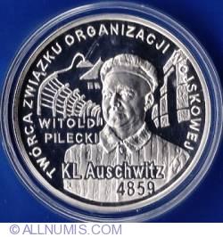 Image #2 of 10 Zlotych 2010 - Auschwitz - Pilecki